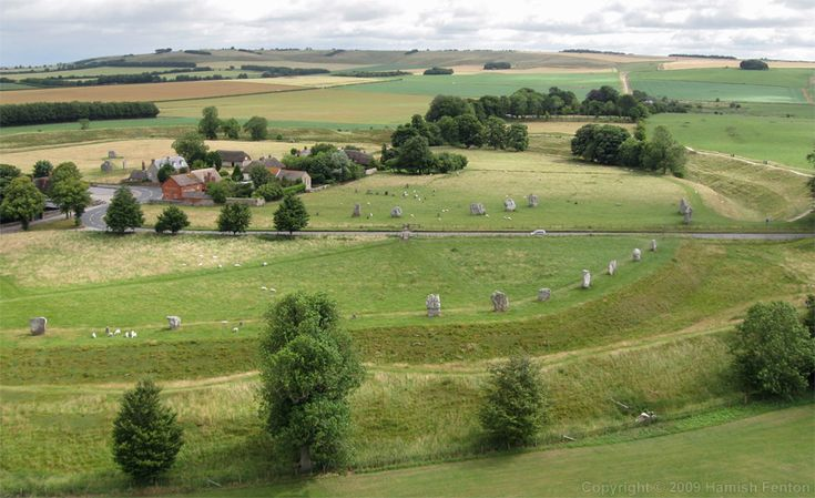 Avebury is a Neolithic henge  monument comprising of three stone circles. Description from megalithic.co.uk. I searched for this on bing.com/images