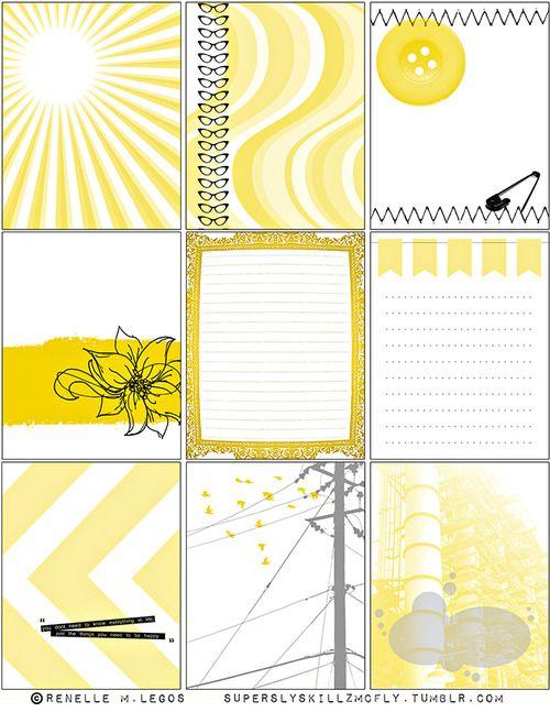 Free Journaling Cards Printable