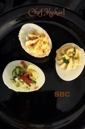 Michael's Deviled Eggs ( 3 recipes)