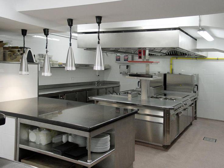 Die besten 17 ideen zu planos de restaurantes auf for Distribucion de cocinas industriales