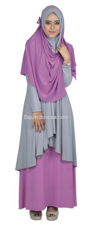 Baju muslim wanita RNK 026 adalah baju muslim wanita yang nyaman...