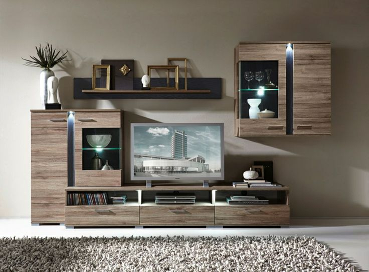 187 best Wohnzimmer images on Pinterest Living room, Buffet and - wohnzimmer eiche modern