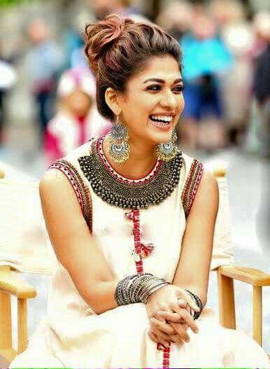 Nayanthara Actresses Saree Hairstyles Indian Designer Wear