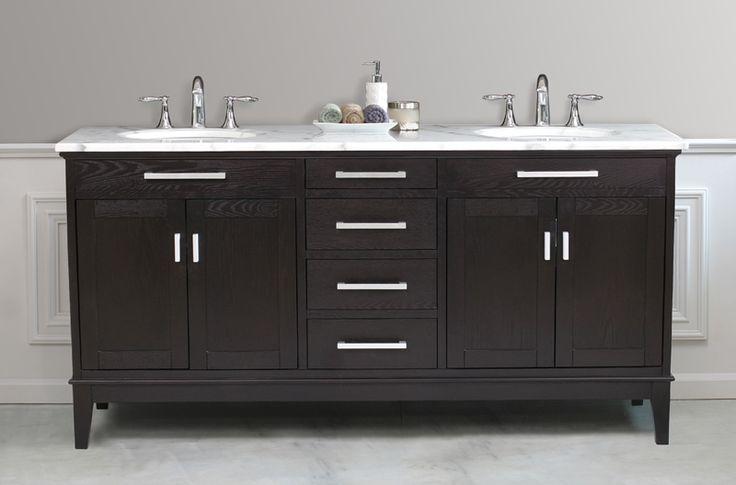 32 best master bath vanities images on pinterest bath for Master bathroom vanities double sink