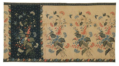 Eliza vanZuylen, Woman's Sargon, 1900-1910, Indonesia, Java, Pekalongan, cotton, resist dyed. Textile Museum.