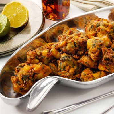 Vegetable Pakora: really good and easy to make! If only fried veggies were more healthy I'd make it every day.