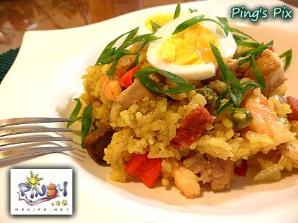 How to cook Arroz Valenciana  Arroz Valenciana Recipe, is a typical Latin American dish their version is called Arroz a la Valenciana for Spain and Arroz   Valenciana in Portugal the Pinoy version is called Arroz Valenciana.  Read more: http://www.pinoyrecipe.net/arroz-valenciana-recipe/