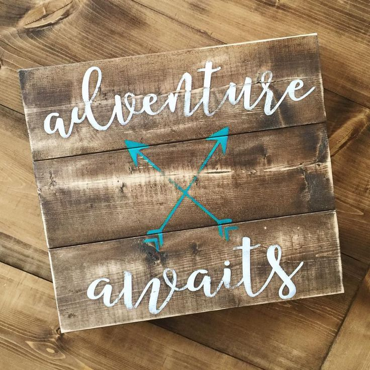 Pallet Sign | Reclaimed Wood | DIY | Pallet Art | Rustic Sign | Rustic Home…