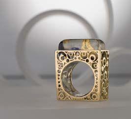 Seven Seasons ring by Sharon Lanciano