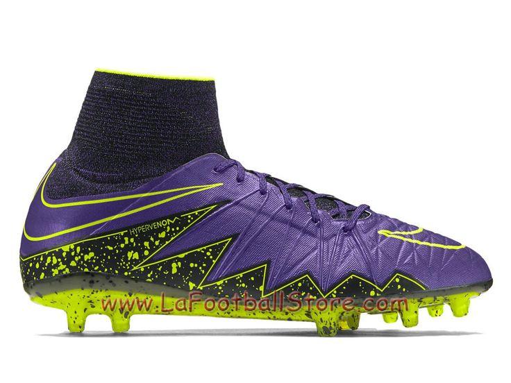 Nike Hypervenom Phantom II FG Chaussure Officiel nike Prix de football à crampons pour terrain sec pour Homme Hyper bordeaux