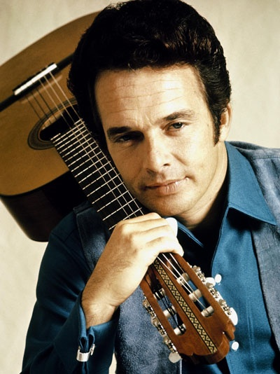 Merle Haggard - okie from muscogee, mama tried, if we make it through dec, hungry eyes --just great songs....mg