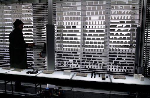 James Beckett, 'Negative Space: A Scenario Generator for Clandestine Building in Africa', The Belgian Pavilion, La Biennale di Venezia 2015