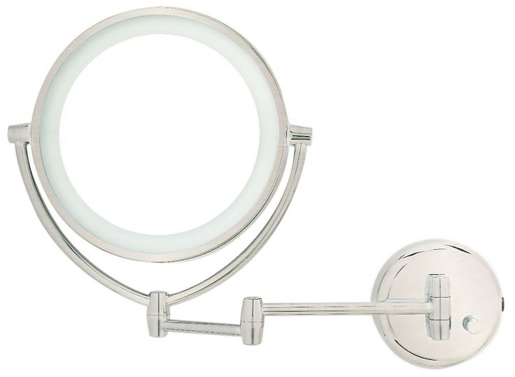 Lighted Wall Mount Makeup Mirror 8 best make-up mirror wall mounted battery images on pinterest