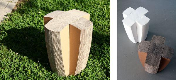 tabouret imitation du bois