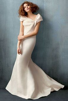 Modern, Structured Wedding Dresses : Brides - J Mendel