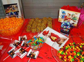Melanie Grace: Alvin and The Chipmunks birthday party