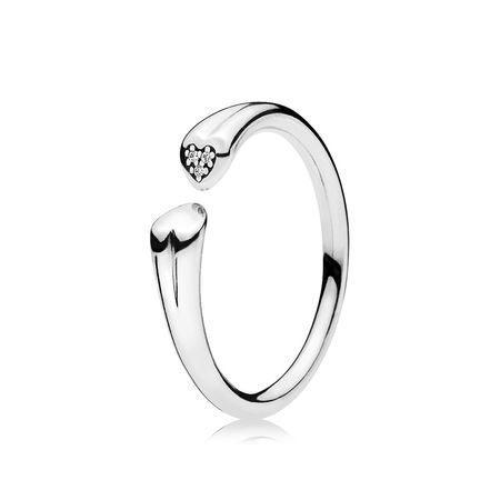 b235e68cc ... uk two hearts ring clear cz giftryapp ba8a0 db2d6 netherlands promise rings  pandora ...