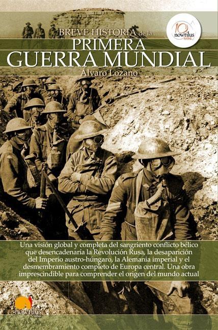 libro de la primera guerra mundial