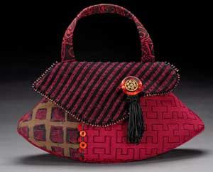 Beautifully detailed handbag by Helen's Daughters