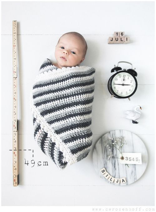 amazing birth announcement! So clever and simple and beautiful.