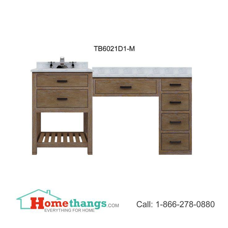 stylish modular wooden bathroom vanity. Sagehill Designs Toby 60\ Stylish Modular Wooden Bathroom Vanity N