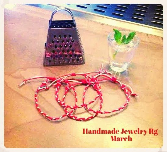 Handmade Jewelry Rg: Bracelets March 2014