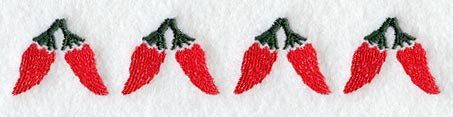Embroidered Southwestern Towel - Embroidered Chili Peppers Towel - Flour Sack Towel -Hand Towel - Bath Towel - Christmas Stocking  - Apron by misty1718 on Etsy