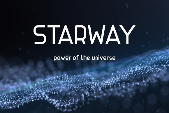 STARWAY — strict and stylish font by wowomnom on @creativemarket