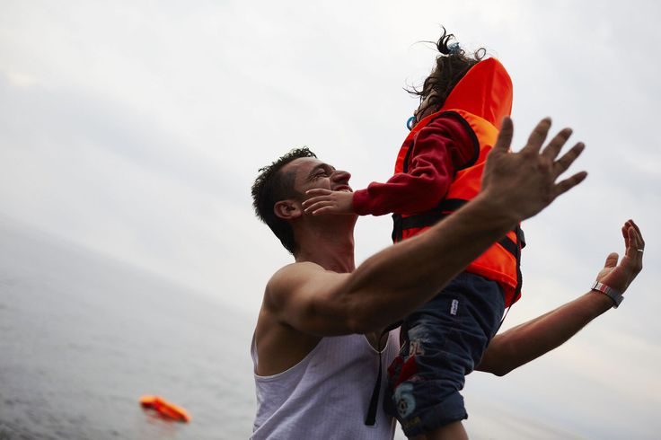 With the Syrian conflict showing no sign of ending, we look back on the risky journeys men and women fleeing the country have taken this year.