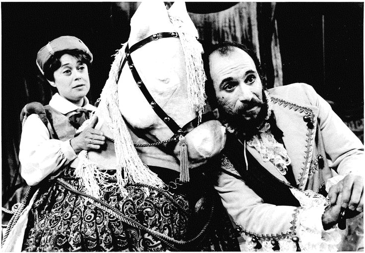 Marilyn Prince as Moth and Tony Amendola as Don Adriano De Armado in Love's Labour's Lost, 1984. #calshakes40thMarilyn Prince, De Armado, Anniversaries Image, Adriano De, Labour Lost, Tony Amendola, Don Adriano, 40Th Anniversaries