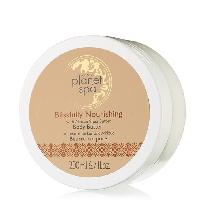 Experience the relaxing, restorative benefits of pampering your body with nourishing African shea butter. This body butter has a rich formula that leaves skin hydrated and silky smooth immediately. It is absorbed quickly and visibly improves skin's conditions. 6.7 fl. oz. BENEFITS • Moisturizes for 24 hours• Absorbs quickly• Improves skin's condition• Mild and gentle• Non-greasy• Clinically and dermatologically testedTO USE • Smooth generousl...