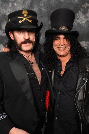 With Lemmy of Motorhead