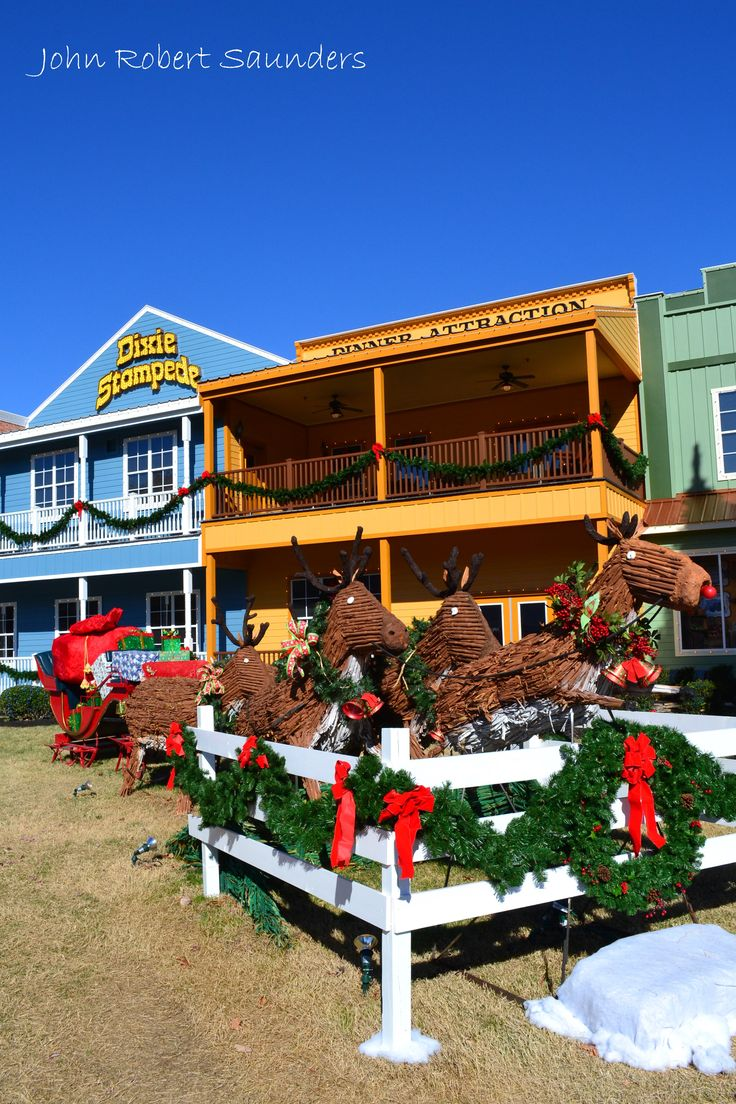 Cabins in gatlinburg tn decorated for christmas - Dixie Stampede Decorated Last Christmas In Pigeon Forge