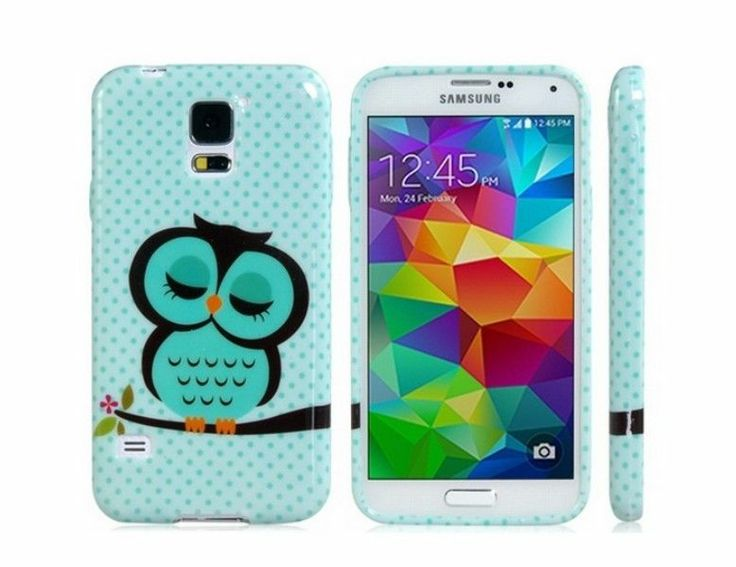 Cute Owl Pattern Back Case for Samsung Galaxy S5 I9600 #Generic