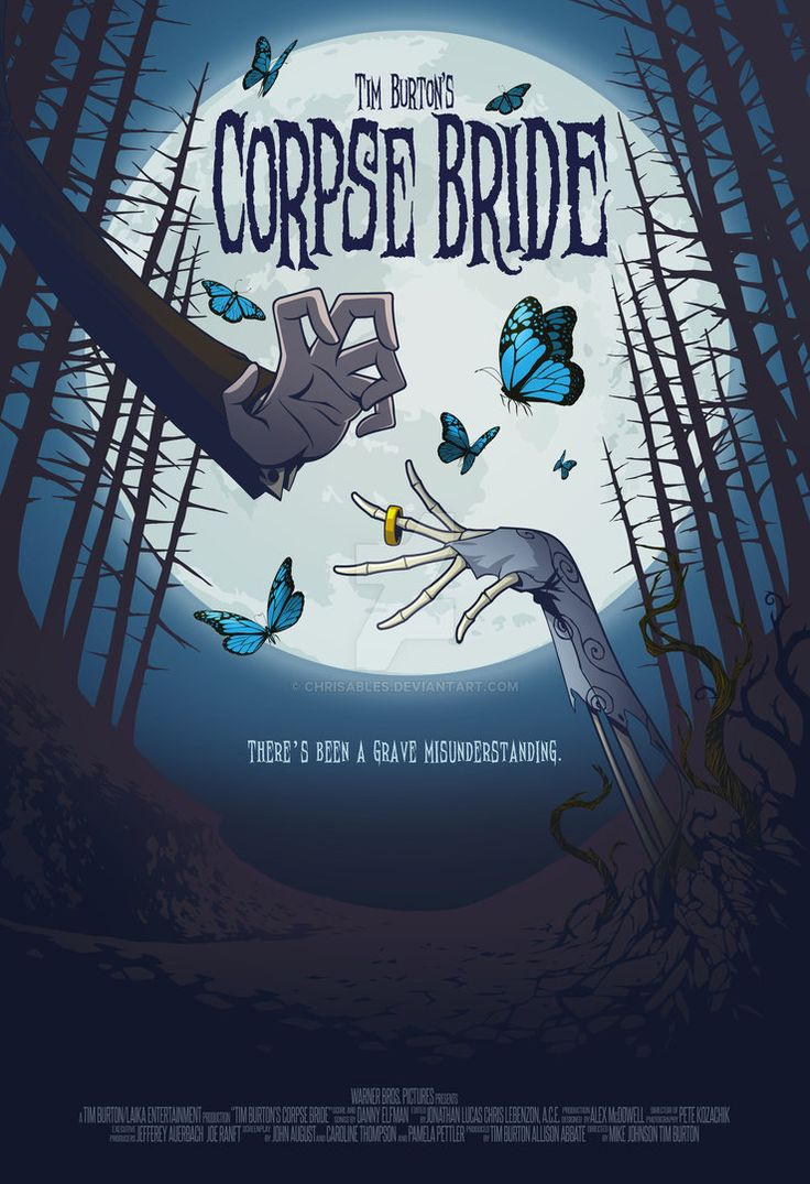 Tim Burton's Corpse Bride (Movie Poster) by chrisables on DeviantArt
