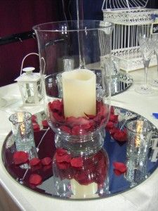 Hurricane Vase Centerpieces These Petal Candle Are Elegant And Jeannine In 2018 Pinterest