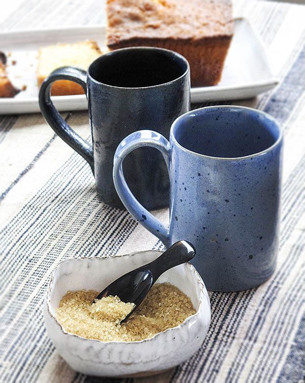 Rustic Ceramic Teatime! This is our new (Sept 2012) colour, light blue.