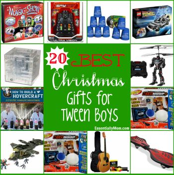 20 Best Christmas Gifts for Tween Boys