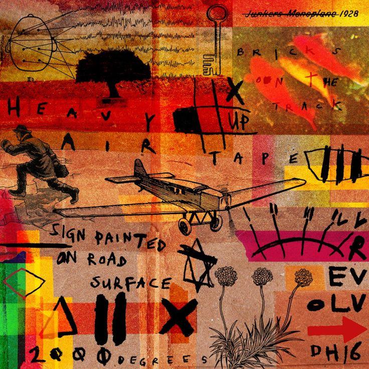 Indistinct Chatter 7 (2016) - digital collage - David Hurley #digital #digitalart #digitalcollage