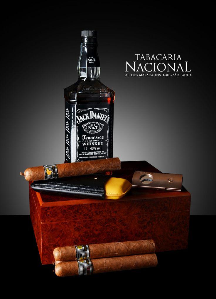 Jack Daniels Whiskey with Cohiba Behike Cigars | by Sergio Carvalho Fotos