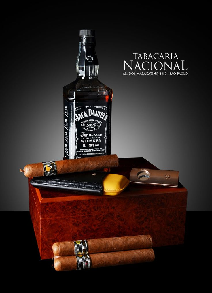 Jack Daniels Whiskey with Cohiba Behike Cigars | by Sergio Carvalho Fotos