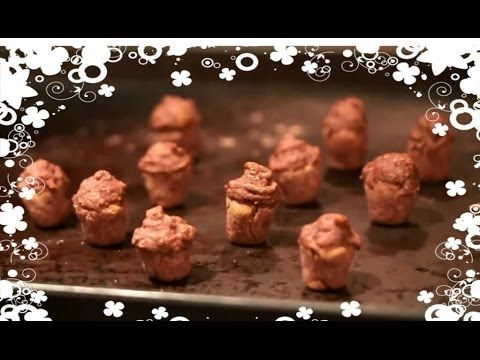 ▶ How to Make Hamster Cupcakes! - YouTube :: A cute idea, but for dwarfs, you need to use a substitute for peanut butter since it gets stuck in their pouches easily.