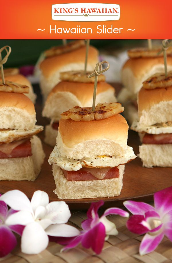 In a short 25 minutes you'll be on your way to having a great #HawaiianFoodsWeek celebration with these sliders made with King's Hawaiian Rolls, Dole Pineapple Slices and SPAM!