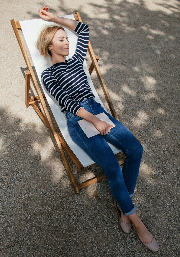 Stripes & denim.