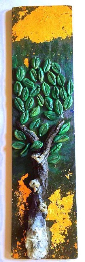 Clay Olive Tree