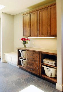 Mud Room - craftsman - laundry room - portland - by Hood River reDesign