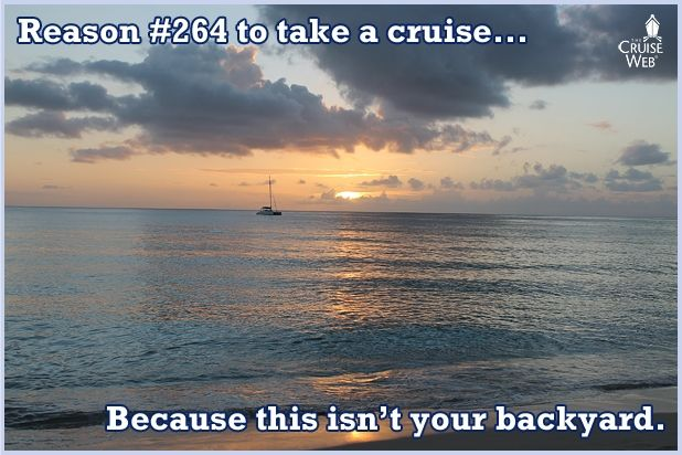 Reason#264 To take a cruise... the scenery.
