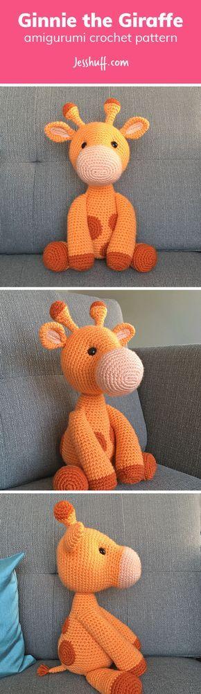 Free Ginnie the Giraffe Amigurumi Pattern