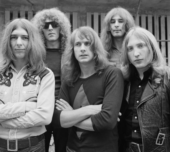 Mott The Hoople's Dale Griffin dies at 67 - Dale Griffin, *(far right)