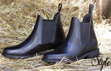 Harrys Horse bőr lovaglócipő Saint Black (28-as mérettől)